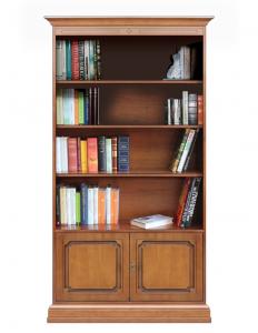 Libreria 2 ante 3 ripiani regolabili