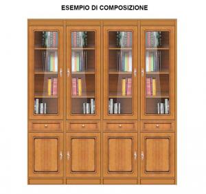 Libreria modulare multifunzionale