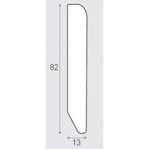 MM 82X13 ML 2.40  - BATTISCOPA IMP. ROV. SBIANCATO