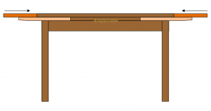 Tavolo allungabile 140 - 220 cm