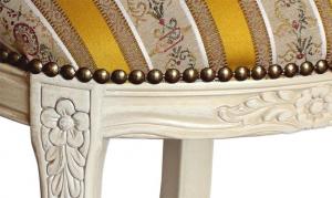 Sedia ovalina classica laccata