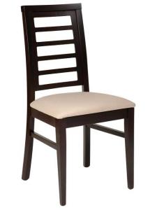 Sedia design Julie in legno di faggio