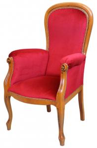 Poltrona Voltaire seduta alta Plus