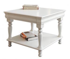 Tavolino quadro Luigi Filippo laccato