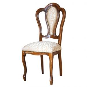 Sedia classica schienale imbottito