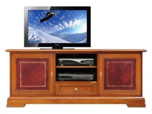 Mobile porta tv con pelle