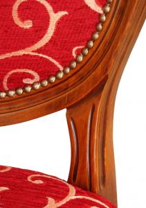 Sedia gambe tornite stile classico 'Classic Style'