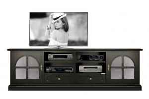 Porta tv 2 metri - serie Black