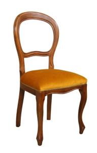 Sedia Luigi Filippo seduta imbottita