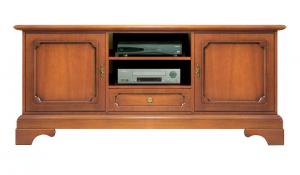 Porta tv 2 ante 1 cassetto classico Venezia