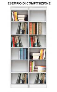 Libreria modulare a giorno