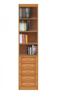 Libreria modulare con cassetti
