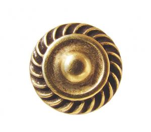 Pomello con corona cesellata - 10 pz