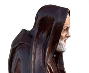 Scultura in legno di Padre Pio - OFFERTA