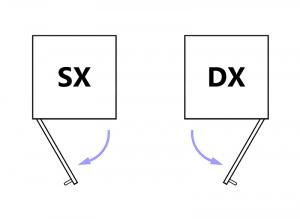 Collezione 'Compos' - Modulo con antina e 4 cassetti