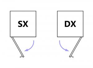 Collezione 'Compos' - Modulo racchiuso da un'unica anta