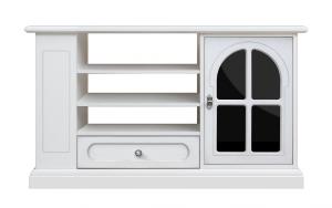 Mobile Tv multifunzionale 'plex & white'