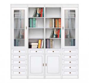 Libreria modulare da parete