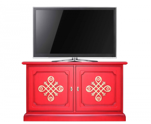 Credenzina bassa - mobile tv RED-YOU