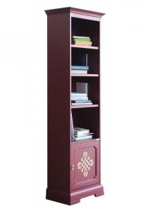 Libreria rubino alta con fregio