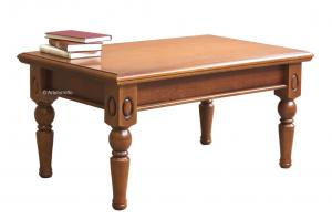 Tavolino rettangolare 'Classic wood'