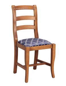 Sedia tradizionale seduta imbottita
