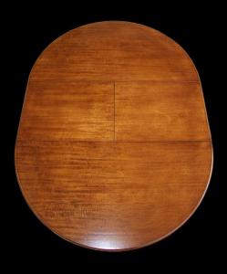 Tavolo rotondo allungabile Luigi Filippo diametro 120 cm