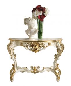 Consolle foglia oro 'Luxury One'
