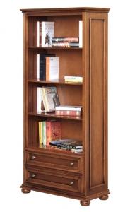 Libreria 2 cassetti in stile