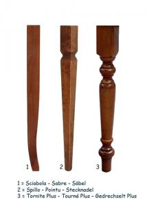 Tavolo bianco allungabile 120-200 cm
