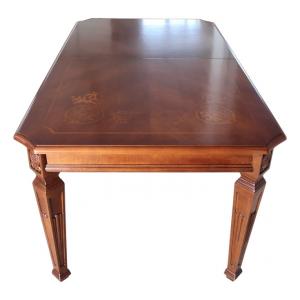 Tavolo intarsiato Lux 180-260 cm