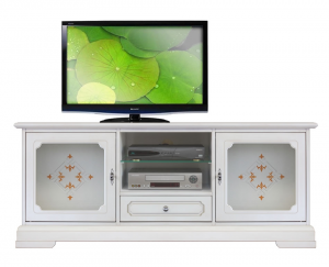 Porta Tv Top Glass