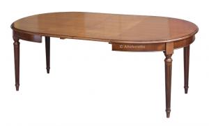 Tavolo ovale elegantissimo 130-210 cm