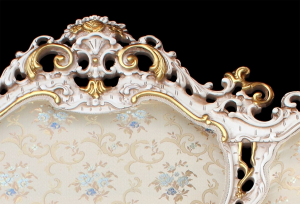 Divano di lusso Lux Gold & Silver