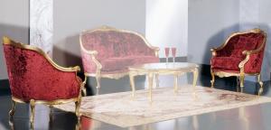 Poltrona Luxury Gold