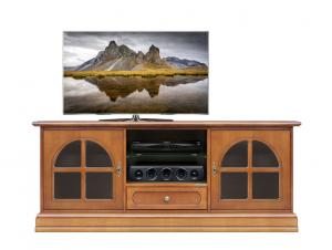 Porta tv classico con vetrinette