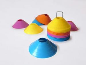 Conetto coppetta segnaletica delimitatore singola vari colori