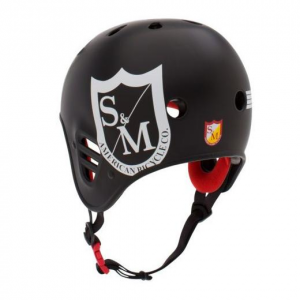 S&M Full Cut Pro-Tec Helmet | Colore Black