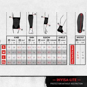 Shadow Invisa Lite Elbow Pads | Black