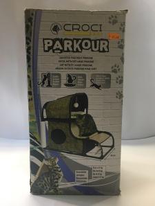 Tiragraffi Parkour con cuccetta e  percorso interattivo