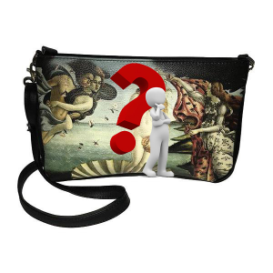 Merinda Personalized shoulder strap with subject of choice
