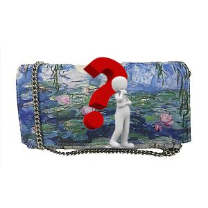 Merinda Personalized clutch bag with subject of choice
