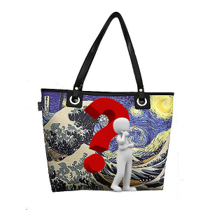 Merinda Personalized shoulder bag with subject of choice