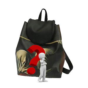 Merinda Personalized Backpack with subject of choice