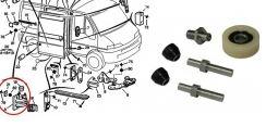 Kit riparazione guida porta scorrevole Fiat Ducato