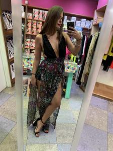 Vestito lungo Papunya Effek Taglia S