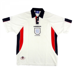 1997-99 Inghilterra Maglia Home XL