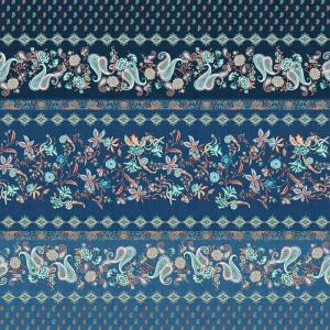 Sofa cover Furniture Bassetti Granfoulard FABRIANO B1 3 sizes Blue