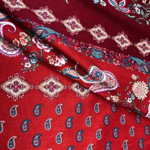 Bassetti Granfoulard FABRIANO R1 Möbelbezug Sofa 3 Größen Rot