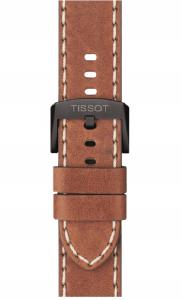 TISSOT CHRONO XL cinturino in cuoio e cassa in acciaio 316L T116.617.36.057.00